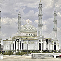 White Mosque by Emily Kay
