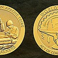 White Mountain Apache Tribe Code Talkers Bronze Medal Art by Movie Poster Prints