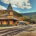 White Mountans Crawford Train Depot by Adam Jewell