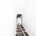 White Mykonian Corridor by Hakon Soreide