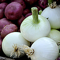 White Onions And Red Potatoes by Julie Palencia