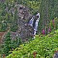White Pearl Waterfall Vert by Jeremy Rhoades