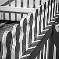 White Picket Fence Portsmouth by Edward Fielding