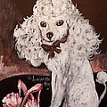 White Poodle  by Anna Sandhu Ray
