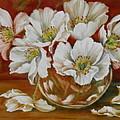 White Poppies by Summer Celeste