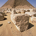 White Pyramid Of King Snefru by Gerry Ellis