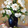 White Rose Elegance by Karin  Leonard