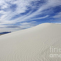 White Sands National Monument Big Dune by Bob Christopher