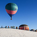 White Sands New Mexico Balloon Festival by Sandra Selle Rodriguez