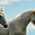 White Stallions by Steve McKinzie