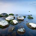 White Stones In The Water by Anna Grigorjeva