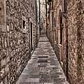 White Streets Of Dubrovnik No3 by Weston Westmoreland