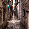 White Streets Of Dubrovnik No5 by Weston Westmoreland
