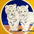 White Tiger Twins by Phyllis Kaltenbach