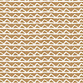 White Triangles On Burlap by Linda Woods