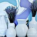 White Vases by Marsha Heiken