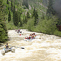 Animas River White Water Rafting The  by Jack Pumphrey
