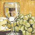 White Wine And Cheese by Debbie DeWitt