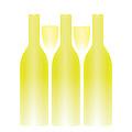 White Wine And Glasses Trompe L'oeil by Hakon Soreide