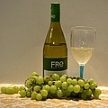 White Wine Still Life 1 by Richard Bryce and Family