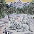 White Wolves by Kathy Marrs Chandler