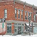 Whitehouse Ohio In Snow 7032 by Jack Schultz