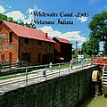 Whitewater Canal Locks by Gary Wonning