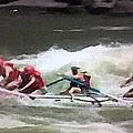 Whitewater Rafting by George Pedro
