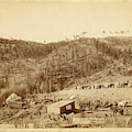Whitewood Canyon, Wade And Jones R.r. Camp by Litz Collection