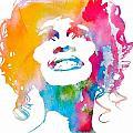 Whitney Houston by Dan Sproul