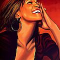 Whitney Houston by Paul Meijering