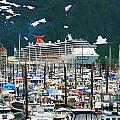 Whittier Alaska Boat Harbor by Karen Jones