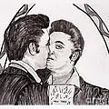 Elvis Who Loves Ya Baby? by Corina Hogan