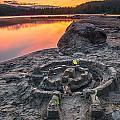 Whonnock Lake Sand Castle by James Wheeler