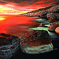 Whispering  Rocks by Malcolm Regnard