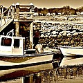 Wickford Marina by Diane Valliere