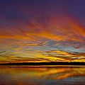 Widescreen Sunset by David Parrish
