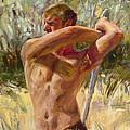 Wielding His Sword by Cheryl King