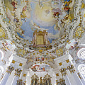 Wieskirche Organ And Ceiling by Jenny Setchell