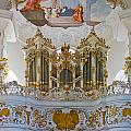 Wieskirche Pipe Organ by Jenny Setchell