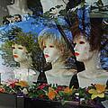 Wig Shop Window by John Cardamone