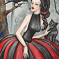 Wild Cherry by Margaryta Yermolayeva