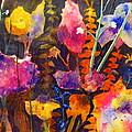 Wild Cottage Garden by Henny Dagenais