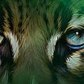 Wild Eyes - Ocelot by Carol Cavalaris