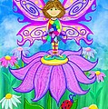 Wild Flower Fairy  by Nick Gustafson