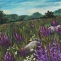Wild Flower Field by Anastasiya Malakhova