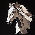 Wild Horse With Hidden Pictures by Konni Jensen