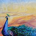 Wild Peacock by Beverley Harper Tinsley