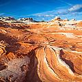 Wild Sandstone Landscape by Inge Johnsson