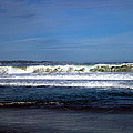 Wild Surf At Seaside Beach by Joyce Dickens